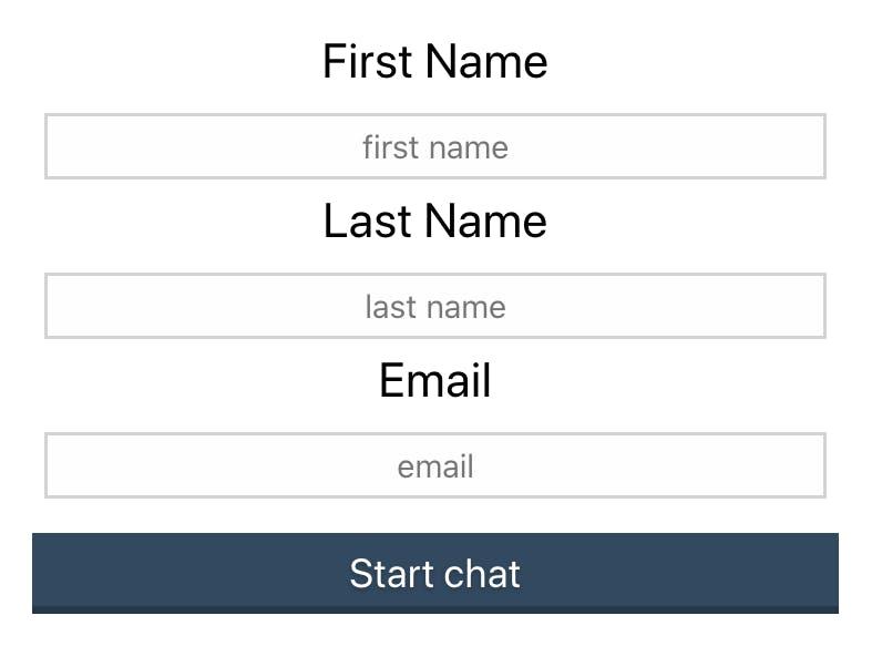 Stream Chat Login