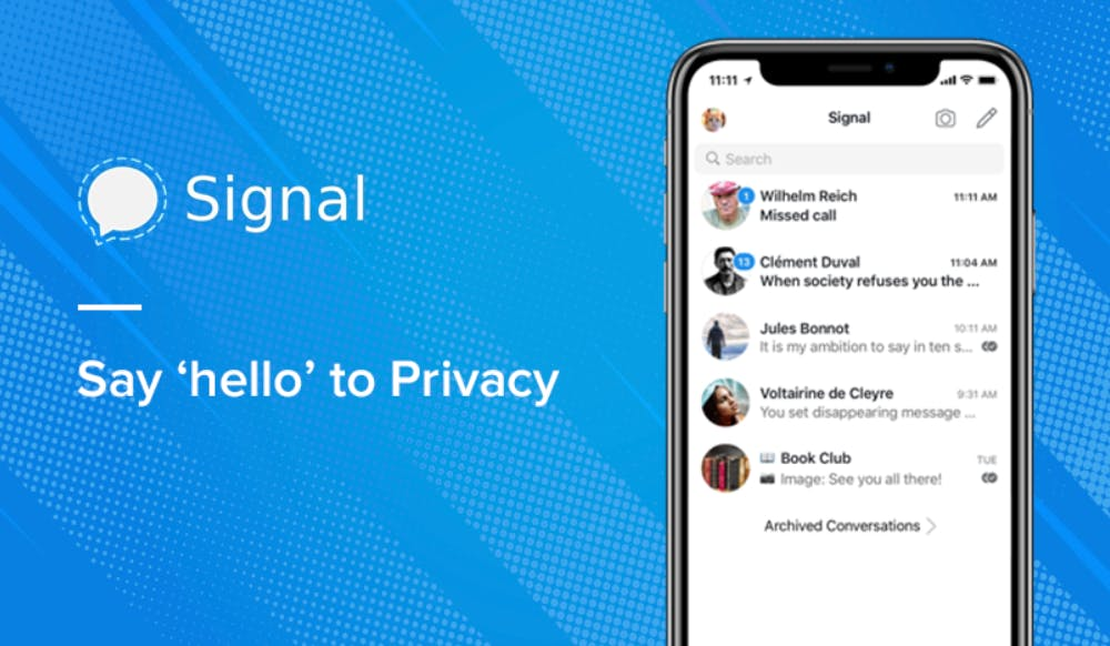 Signal: Say 'hello' to privacy