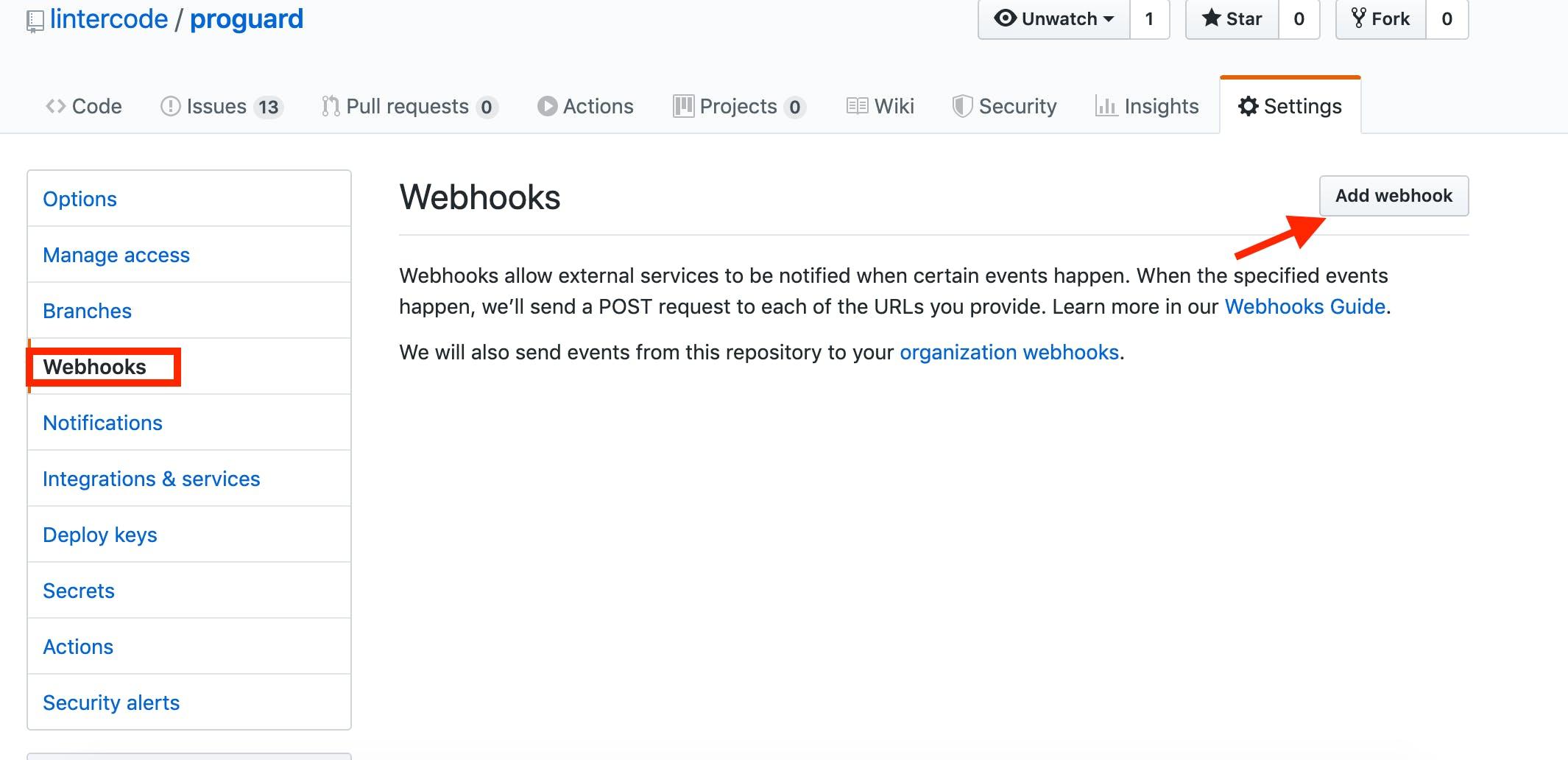 GitHub - WebHooks