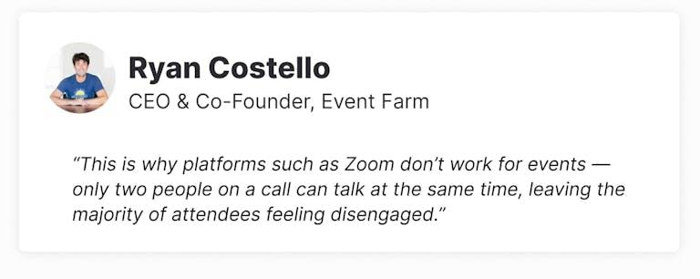 Event Farm with Ryan Costello
